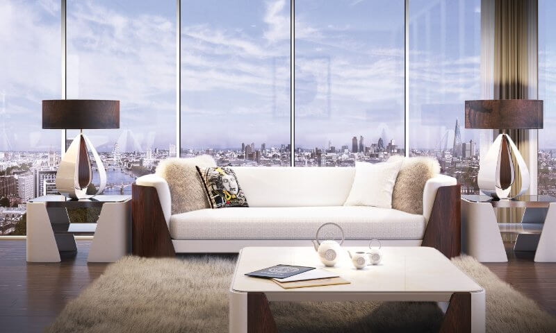 Versace Homes in London, Abm invest